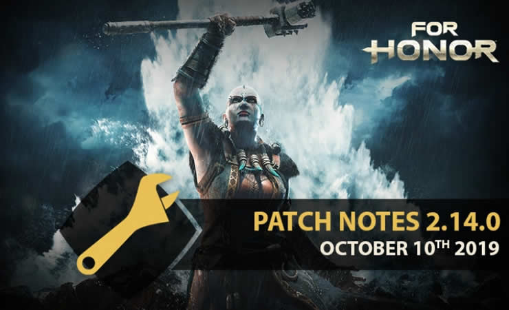 For Honor Patch Notes 2.14.0 available – New Update on October 10