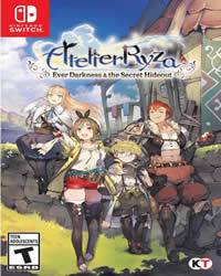 Atelier Ryza Ever Darkness Game Cover