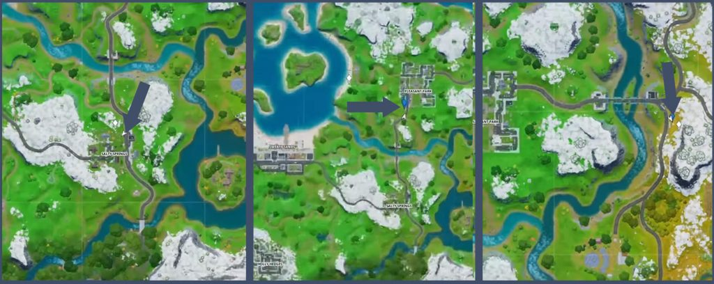 Fortnite Bus Stops Locations Map