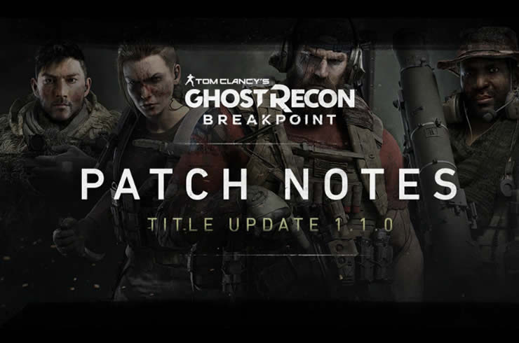 Ghost Recon Breakpoint: Update Version 1.06 – Patch Notes 1.1.0