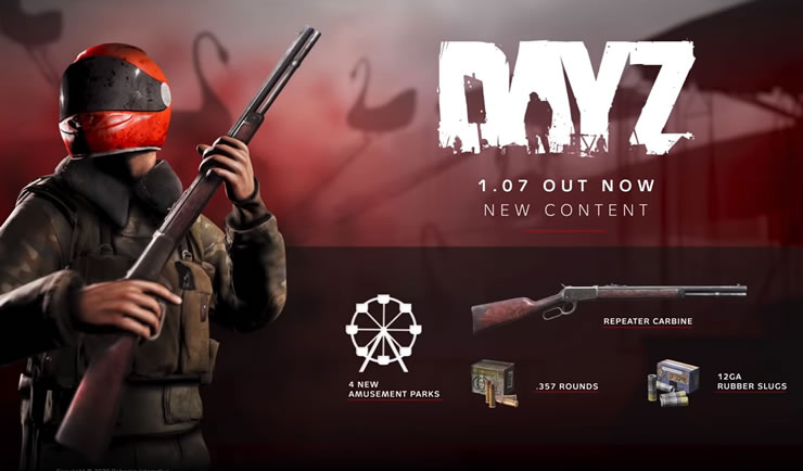 DayZ Update 1.07 Patch Notes 1.12 on February 20