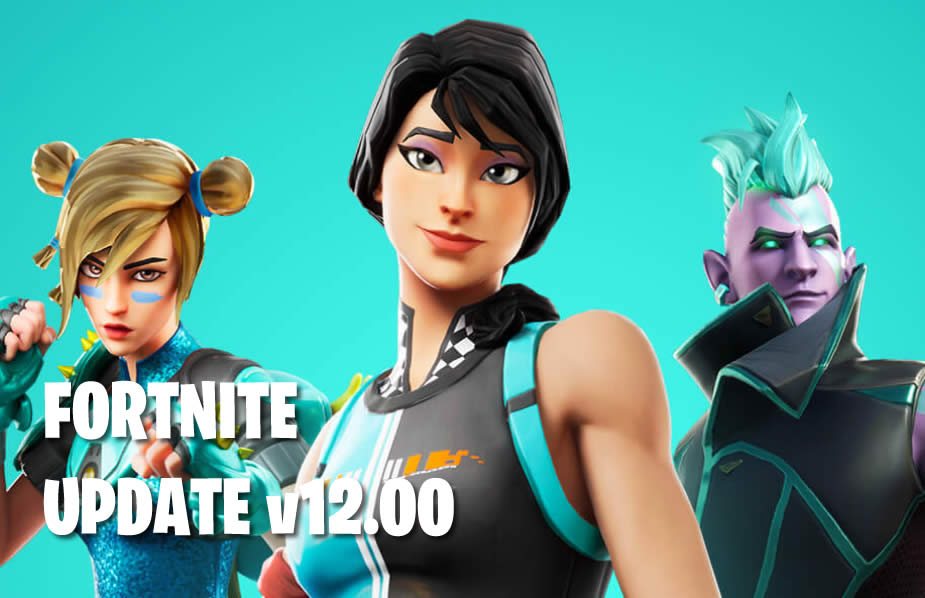 Fortnite Patch Notes 2.57 – Update 12.00 and Season 2