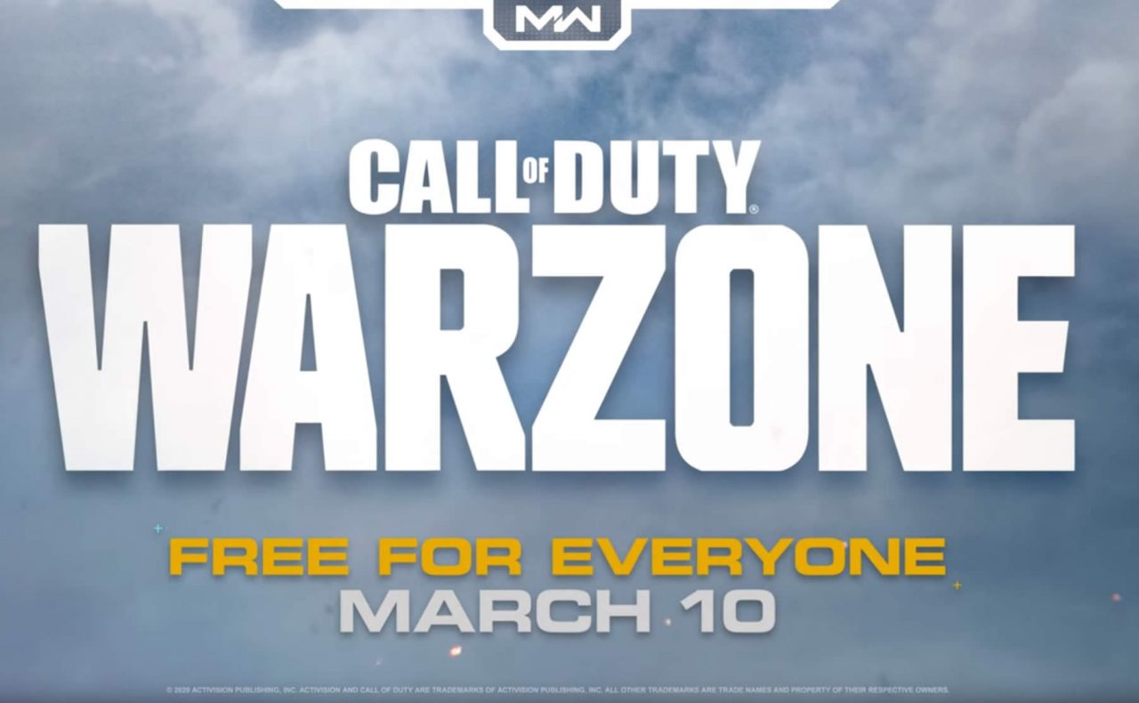 Call of Duty Warzone has finally been revealed – release tomorrow
