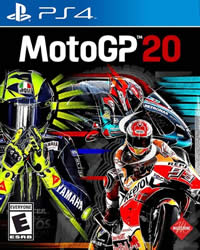 MotoGP 20 Game Cover