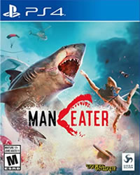 Maneater Game Cover