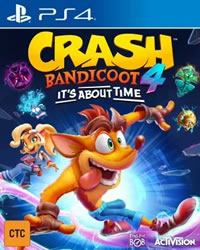 Crash Bandicoot 4: It's About Time Game Cover