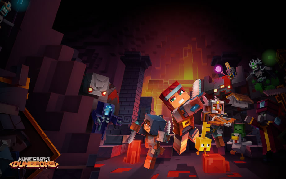 Minecraft Dungeons Update Version 1.02 Patch Notes on June 17