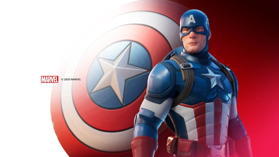 Marvel's Captain America is now in Fortnite