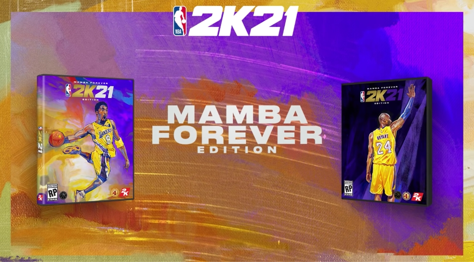 NBA 2K21 Mamba Forever Edition Cover Star Kobe Bryant and Release Date Revealed