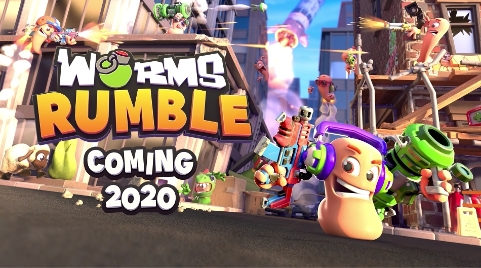 Worms Rumble with Battle Royale and Real-Time Combat Announced
