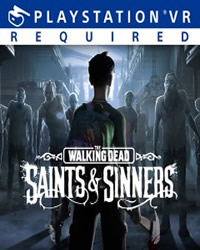 The Walking Dead: Saints and Sinners Game Cover