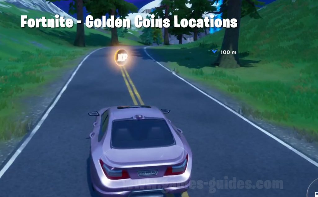 Golden XP Coins Locations Fortnite