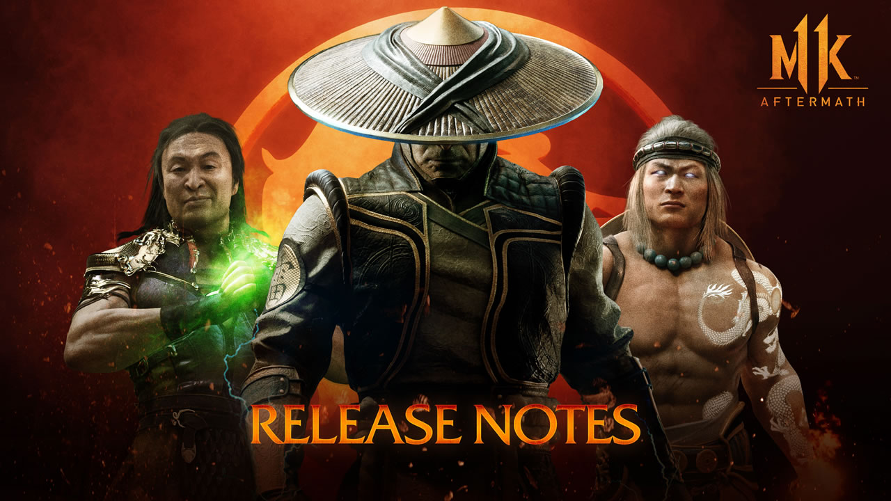 MK11 PC Update on September 15 – Mortal Kombat 11 Patch Notes