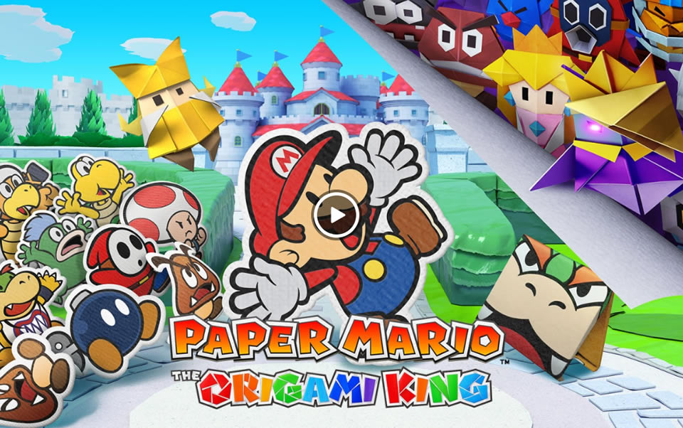 Paper Mario: The Origami King Update 1.01 Patch Notes