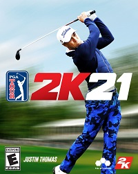 PGA TOUR 2K21 Game Cover
