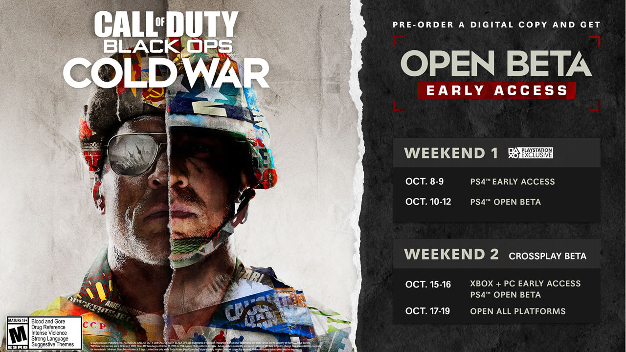 Black Ops Cold War: Beta Schedule and Details Announced