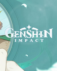 Genshin Impact Game Cover