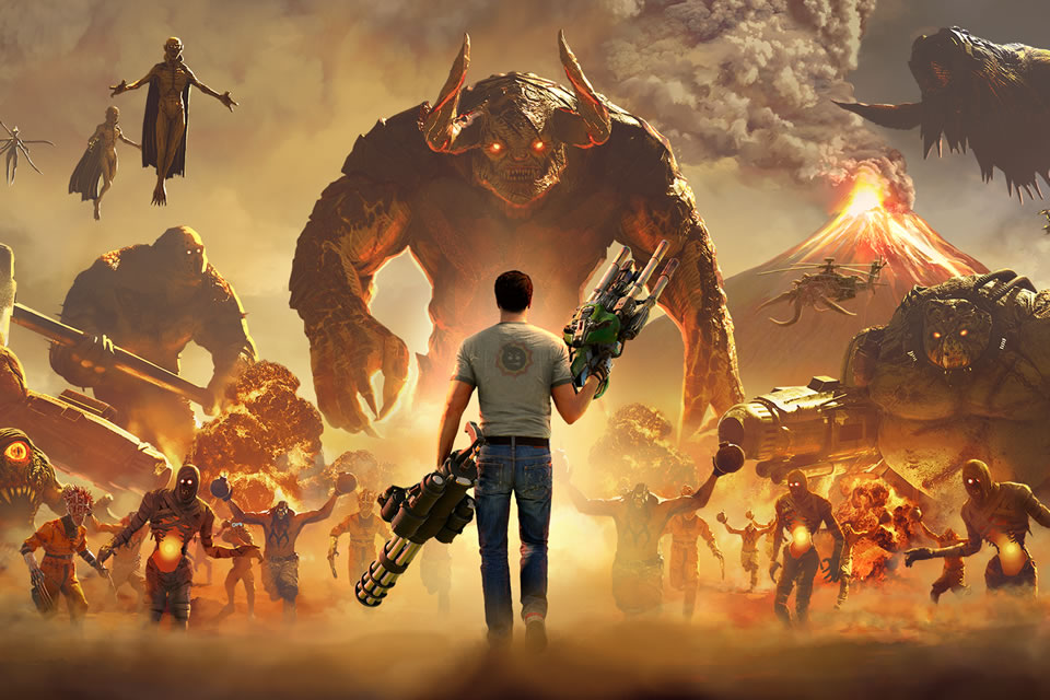 Serious Sam 4 Update 1.04 – Patch Notes on October 9