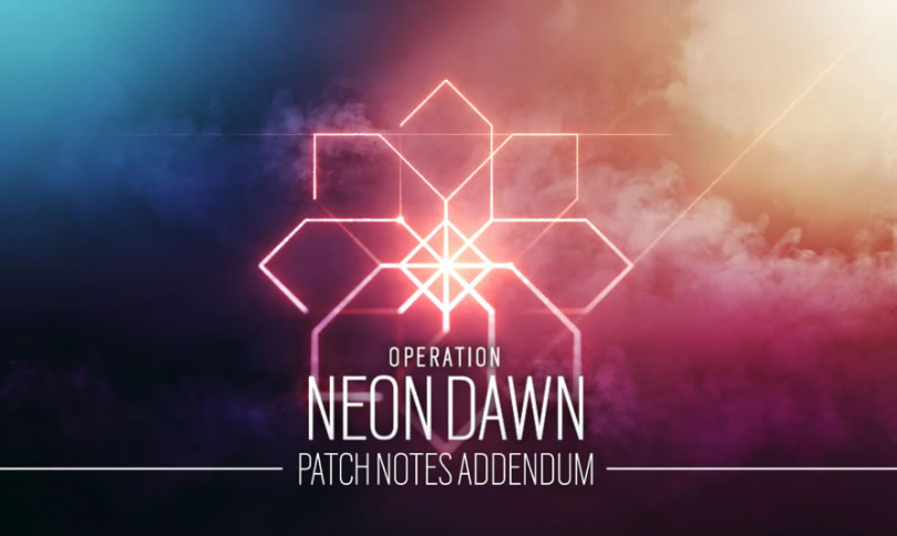 Rainbow Six Siege Update 1.98 – Neon Dawn Patch Notes