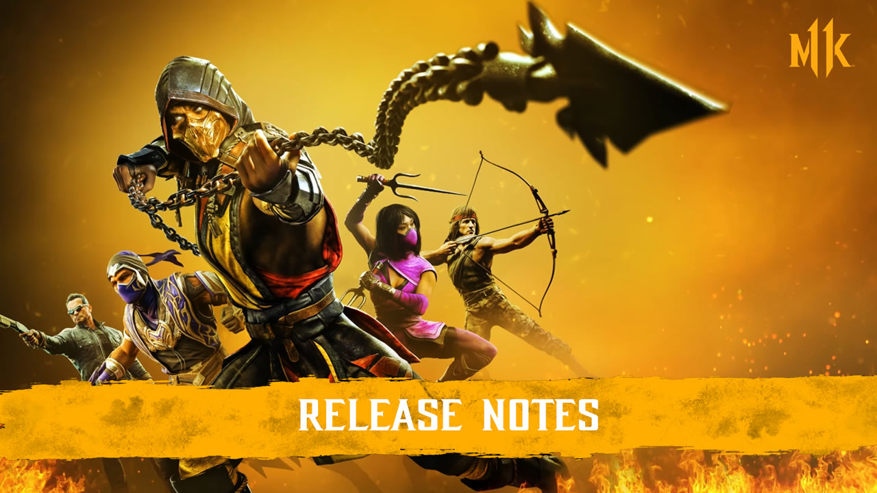Mortal Kombat 11 Update 1.28 – File Size and Patch Notes
