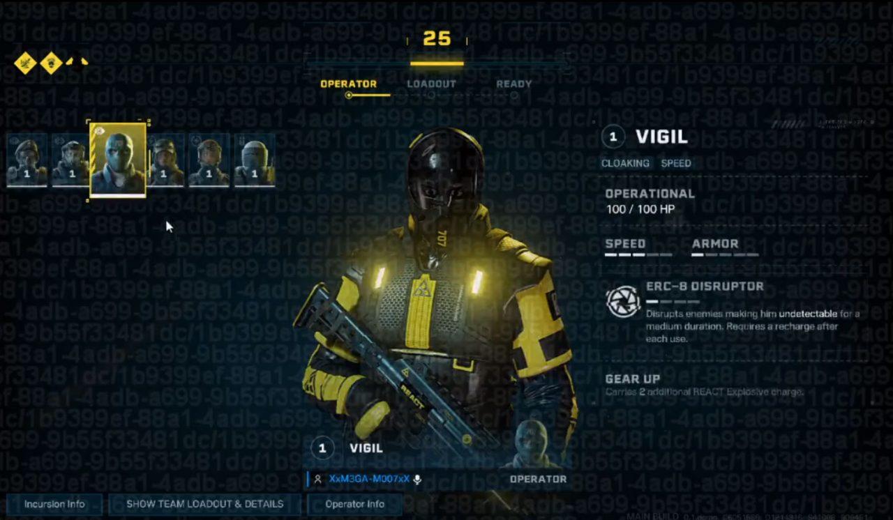 Rainbow Six Quarantine Gameplay Leak – Tester Releases Video