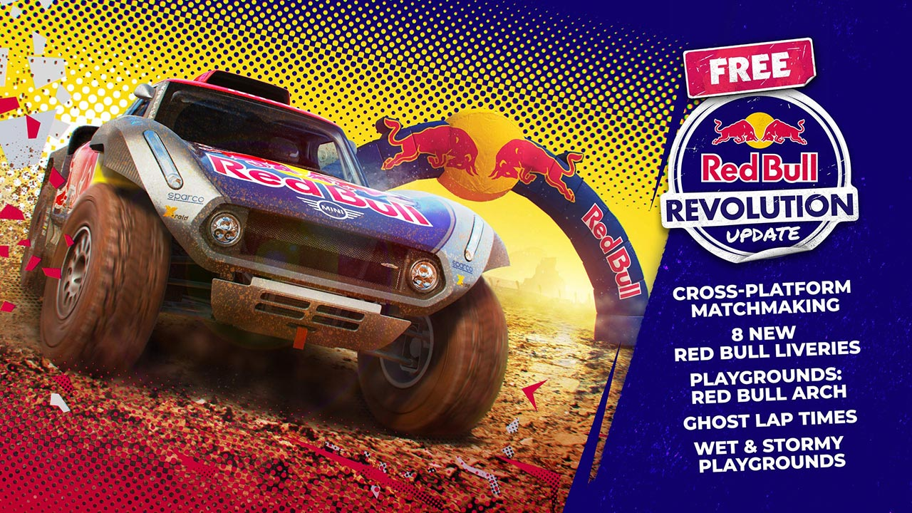 Dirt 5 Update 4.03 Deployed – Red Bull Revolution Patch Notes