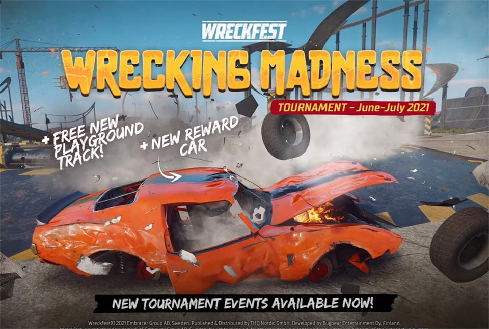 Wreckfest Update 2.08 Deployed – Patch Notes on June 1st