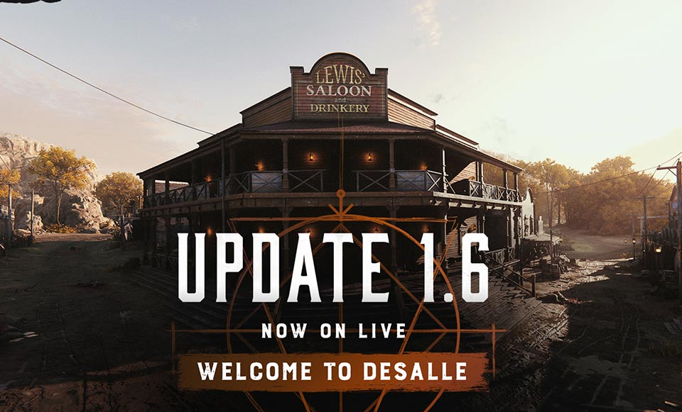 Hunt: Showdown Update 1.6.0 Adds new Map – Patch Notes on July 20