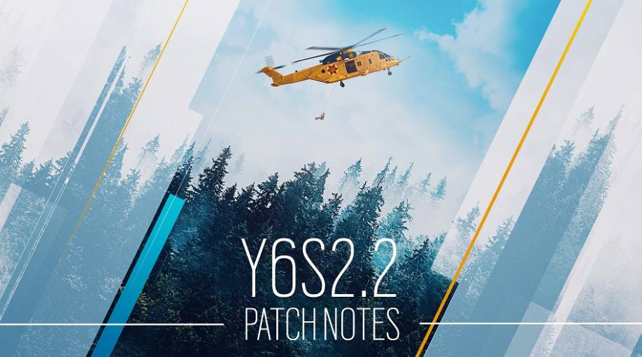 R6S Update Version 2.09 – Patch Notes Y6S2.2 on July 27