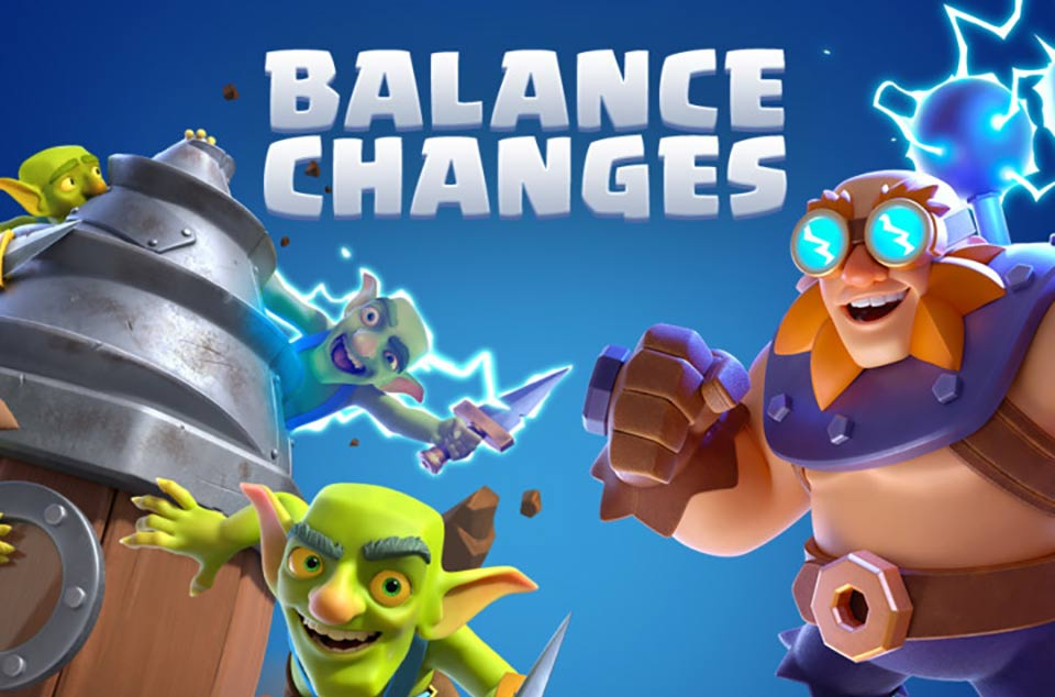 Clash Royale Update September 6 adds Balance Changes – Patch Notes